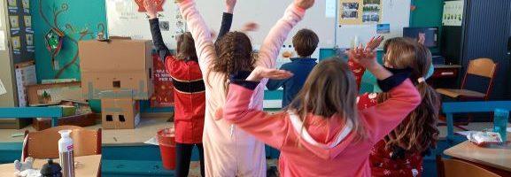Carnaval in de klas